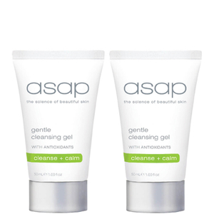 2x asap gentle cleansing gel 50ml