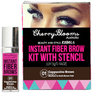 Cherry Blooms Fiber Brow Kit - Cap Brown