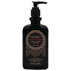 MOR Emporium Classics Blood Orange Hand and Body Wash 350ml