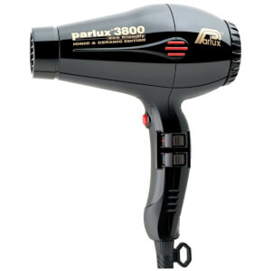 Parlux 3800 Eco Friendly Hair Dryer 2100W - Black