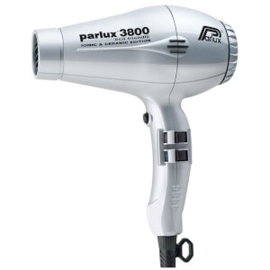 Parlux 3800 Eco Friendly Hair Dryer 2100W - Silver