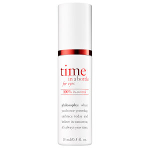 philosophy Time In A Bottle 100% In-Control Resist Renew Repair Eye Serum 15ml