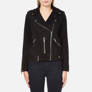 Selected Femme Women's Sanella Suede Jacket - Black