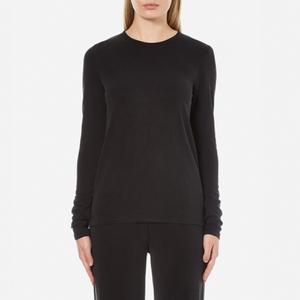Samsoe & Samsoe Women's Shiga Long Sleeve Top - Black