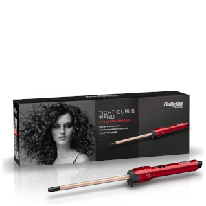 Rizador Tight Curls de BaByliss - Rojo