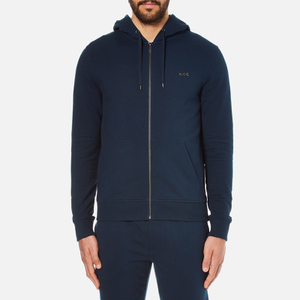 Michael Kors Men's Stretch Fleece Hoody - Midnight