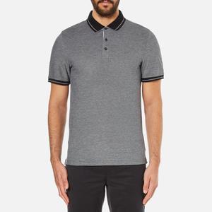 Michael Kors Men's Tipped Birdseye Polo Shirt - Black