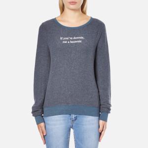 Wildfox Women's Downie Baggy Beach Sweatshirt - After Midnight Blue