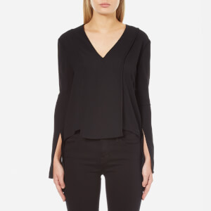C/MEO COLLECTIVE Women's About Us Long Sleeve Shirt - Black