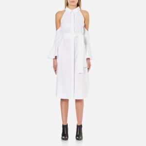 C/MEO COLLECTIVE Women's Show Me Shirt Dress - White