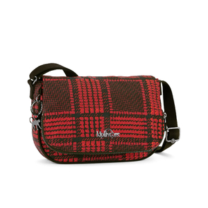 Kipling Women's Earthbeat Small Cross Body Bag - Check Mix