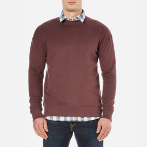 Selected Homme Men's Otto Crew Neck Sweatshirt - Bitter Chocolate