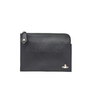 Vivienne Westwood Women's Opio Saffiano Small Clutch Bag - Black
