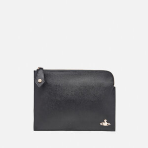 Vivienne Westwood Women's Opio Saffiano Small Clutch Bag - Black