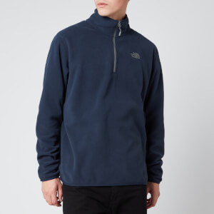 The North Face Men's 100 Glacier 1/4 Zip Fleece - Urban Navy