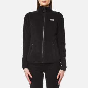 The North Face Women's 100 Glacier Full Zip Fleece - TNF Black