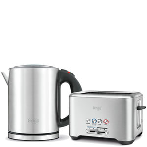 Sage by Heston Blumenthal 2 Slot the Bit More Toaster & Kettle Bundle
