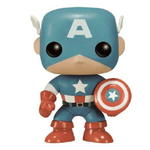 Marvel Sepia Toned Captain America 75th Anniversary Limited Edition Pop! Vinyl Figure