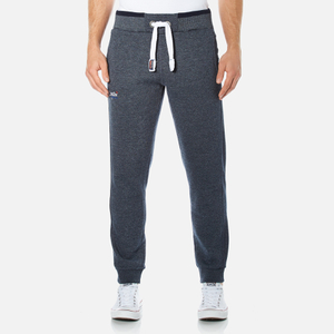 Superdry Men's Orange Label Tipped Joggers - Navy Grit