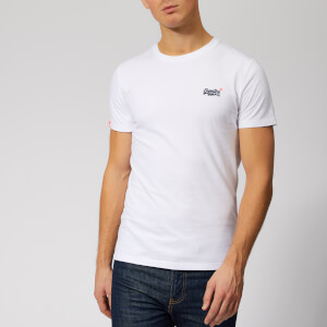 Superdry Men's Orange Label Vintage Embroidery T-Shirt - Optic White