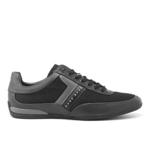 BOSS Green Men's Space Mesh Trainers - Black