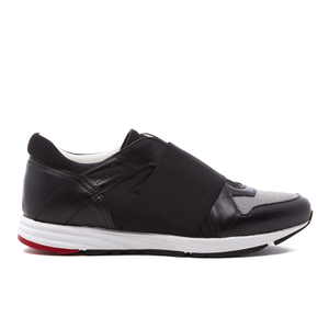 HUGO Women's Asya-E Elastic Trainers - Black