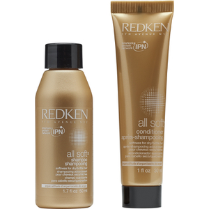 Redken All Soft Shampoo and Conditioner Duo Free Gift (Worth £7)
