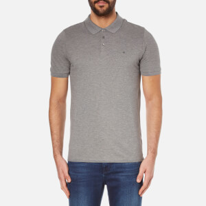 Calvin Klein Men's Paul Polo Shirt - Mid Grey Heather