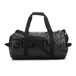 Superdry Men's Tarp Barrel Bag - Black