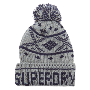 Superdry Men's Oban Beanie Hat - Dark Marl/Navy