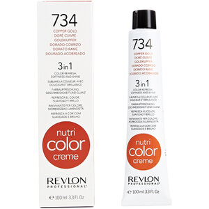 Revlon Professional Nutri Color Creme 734 Copper Gold Оттеночный крем 100мл