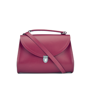 The Cambridge Satchel Company Women's The Poppy Shoulder Bag - Rhubarb Red