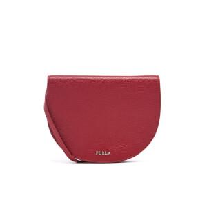 Furla Women's Club Cross Body Pouch Bag - Rubino