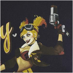 DC Bombshells Men's Harley Quinn T-Shirt - Black: Image 4