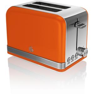 Swan ST19010ON 2 Slice Toaster - Orange