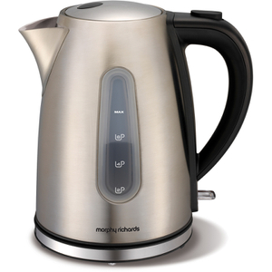 Morphy Richards 43902 1.5L Accents Brushed Jug Kettle - Stainless Steel