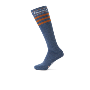 Santini California Eroica High Profile Wool Socks - Blue