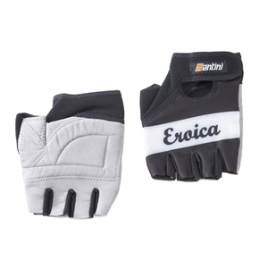 Santini Eroica Race Gloves - Blue