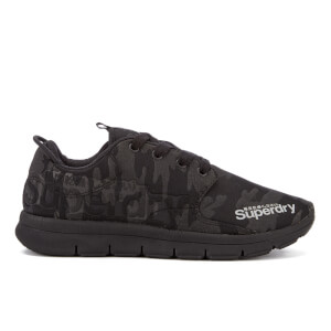Superdry Women's Scuba Running Trainers - Black Camo