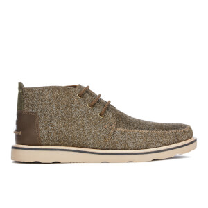 TOMS Men's Herringbone Chukka Boots - Dark Earth