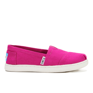 TOMS Kids' Seasonal Classics Slip-On Pumps - Fuchsia