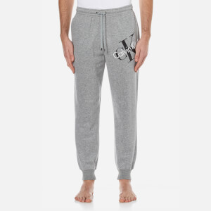 Calvin Klein Men's Large Logo Joggers - Mod Grey Heather