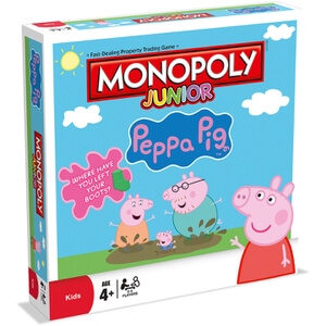 Monopoly Board Game - Peppa Pig Jr. Edition