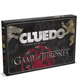 Cluedo Mystery Board Game - Game of Thrones Edition
