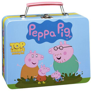 Top Trumps Activity Tin Game - Peppa Pig Edition