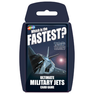 Top Trumps Card Game - Ultimate Military Jets Edition