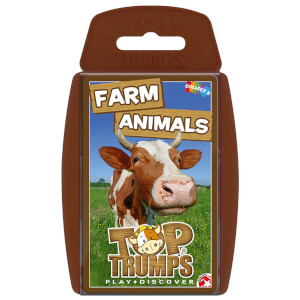 Top Trumps Card Game - Farm Animals Edition