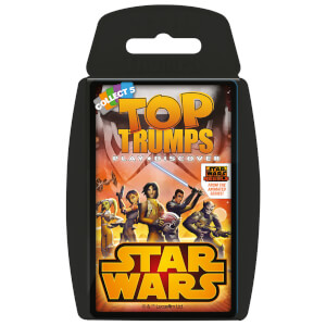 Top Trumps Card Game - Star Wars Rebels Edition