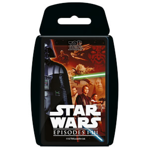 Top Trumps Card Game - Star Wars 1-3 Edition