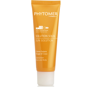 Phytomer Sun Solution Sun Screen SPF 15 Face and Body (50ml)